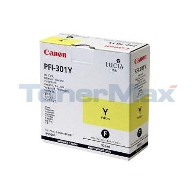 CANON PFI-301Y INK YELLOW 330ML